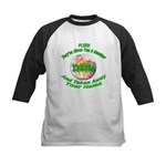 The Pluto Number Kids Baseball Jersey