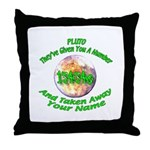 The Pluto Number Throw Pillow