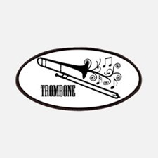 Trombone swirls Patches