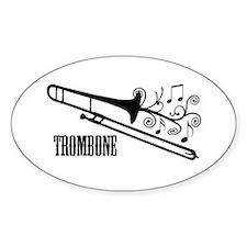 Trombone swirls Decal
