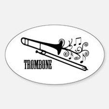 Trombone swirls Decal