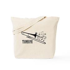 Trombone swirls Tote Bag