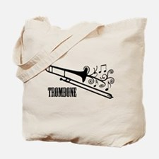 Trombone swirls Tote Bag