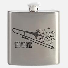 Trombone swirls Flask