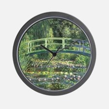 Bridge Monet Wall Clock