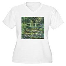 Bridge Monet Plus Size T-Shirt