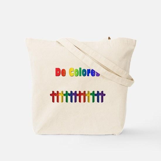 De Colores Marching Crosses Tote Bag