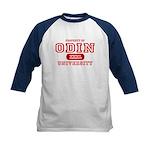 Odin University T-Shirts Kids Baseball Jersey