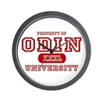 Odin University T-Shirts Wall Clock