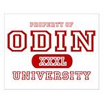 Odin University T-Shirts Small Poster