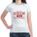 Odin University T-Shirts Jr. Ringer T-Shirt