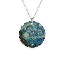 Starry Night van Gogh Necklace