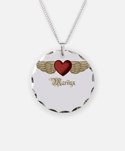 Marilyn the Angel Necklace