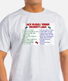 Jack Russell Terrier Property Laws T-Shirt