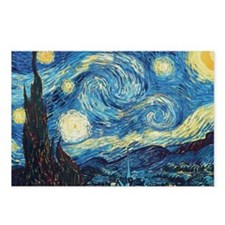 Van Gogh Starry Night Impressionist Postcards (Pac