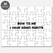 Admin Rights Puzzle