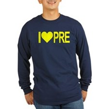 I *heart* PRE Long Sleeve T-Shirt