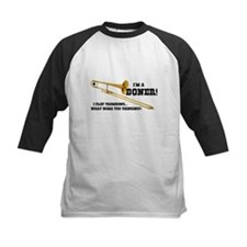 Funny Trombone Baseball Jersey