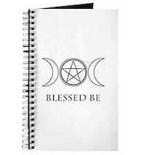 Blessed Be (Black & White) Journal