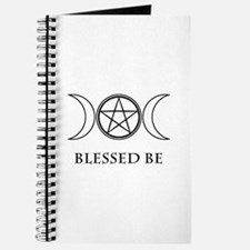 Blessed Be (Black & White) Journal
