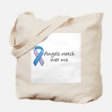 Angels watch over me Tote Bag