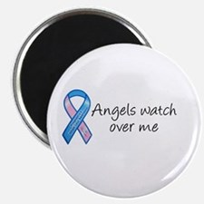 """Angels watch over me 2.25"""" Magnet (10 pack)"""