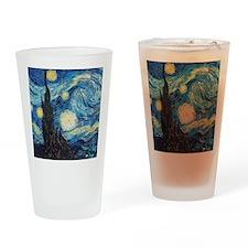 Van Gogh Starry Night Impressionist Drinking Glass