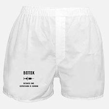 Botox Expression Boxer Shorts