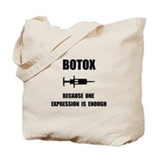 Botox Expression Tote Bag