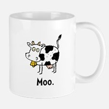 Cartoon Cow Moo Mug