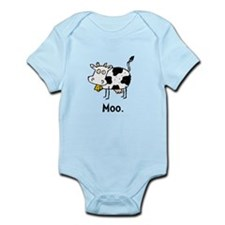 Cartoon Cow Moo Body Suit