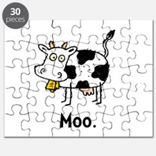 Cartoon Cow Moo Puzzle