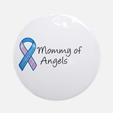 Mommy of Angels Ornament (Round)