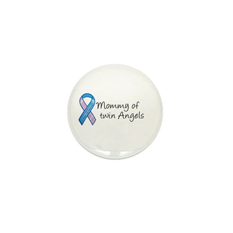 Mommy of Twin Angels Mini Button (10 pack)