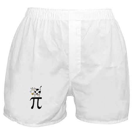 Cow Pi Boxer Shorts