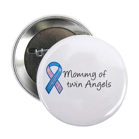 Mommy of Twin Angels Button