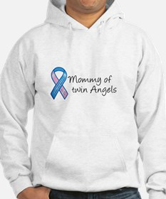 Mommy of Twin Angels Hoodie