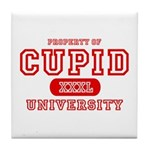 Cupid University Tile Coaster