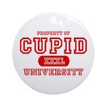 Cupid University Ornament (Round)