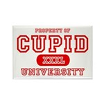 Cupid University Rectangle Magnet (10 pack)
