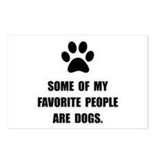 Favorite People Dogs Postcards (Package of 8)