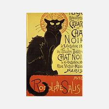 Chat Noir Cat Rectangle Magnet