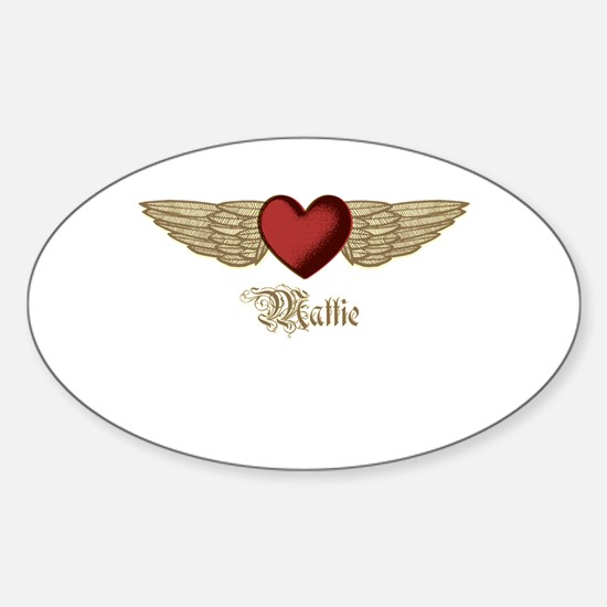 Mattie the Angel Decal