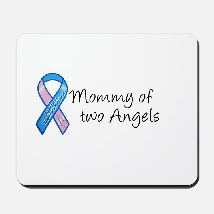 Mommy of Two Angels Mousepad