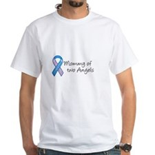 Mommy of Two Angels Shirt