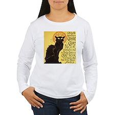 Chat Noir Cat Long Sleeve T-Shirt