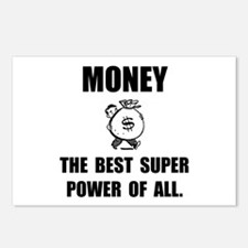 Money Super Power Postcards (Package of 8)