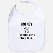 Money Super Power Bib