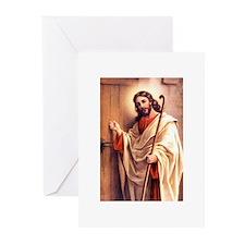 Jesus at Door Greeting Cards (Pk of 10)