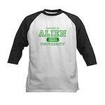 Alien University Kids Baseball Jersey